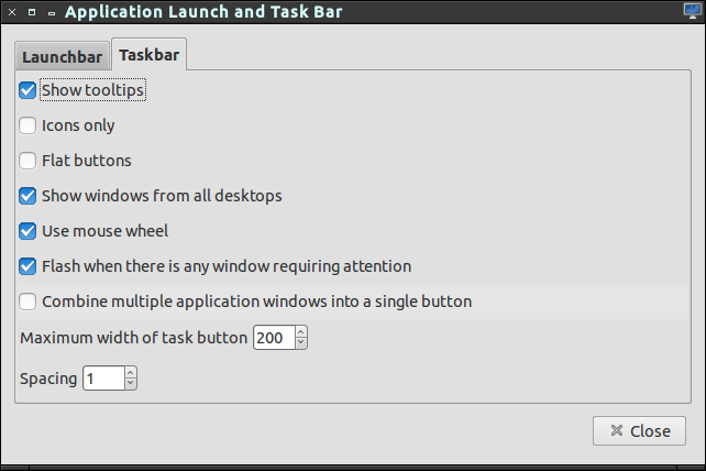 launchtaskbar plugin